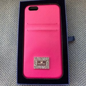 Swarovski phone case, pink, iPhone 6/6sPlus, NEW!